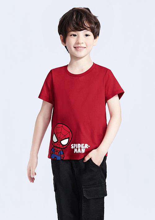 漫威系列純棉印花T恤-童裝-05