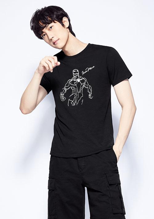 漫威系列純棉印花T恤-男裝-03