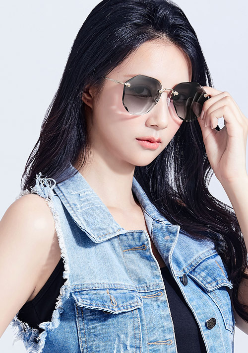 抗UV無框太陽眼鏡