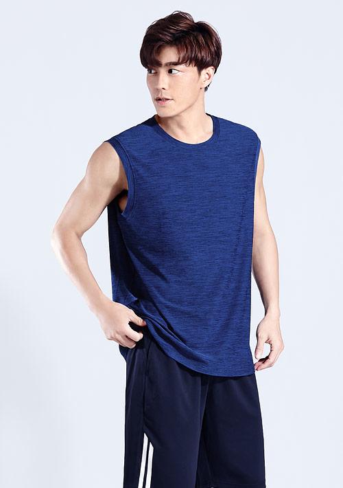 抗UV吸排涼感運動背心-男裝