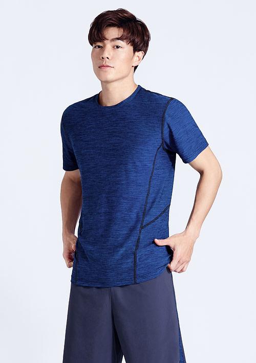 抗UV吸排涼感短袖T裇-男裝