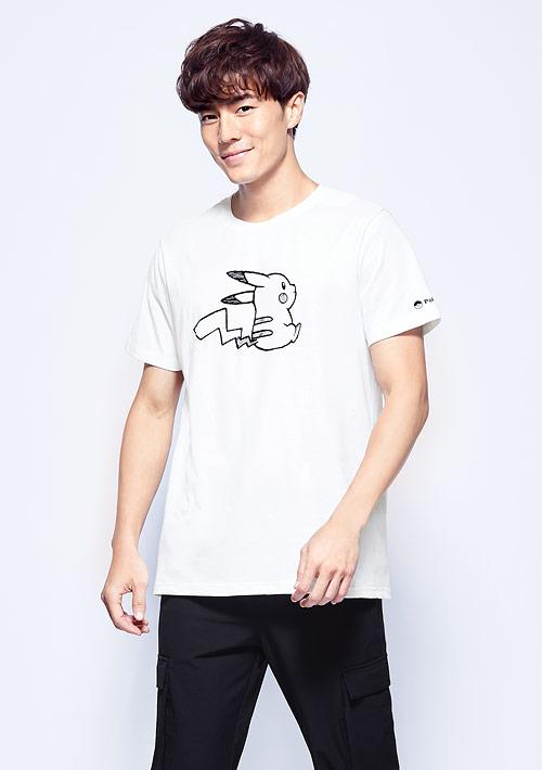 寶可夢系列純棉印花T恤-02-男裝