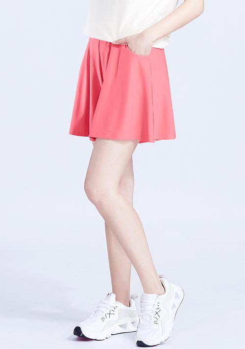 特級彈性吸排涼感短褲裙
