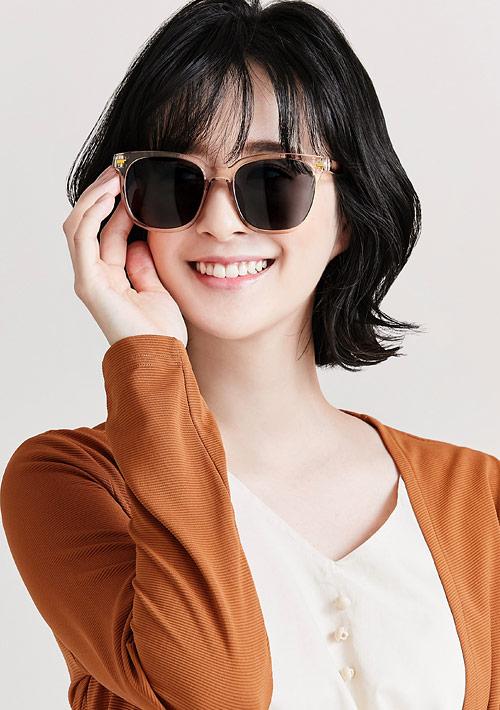 韓妞圓框太陽眼鏡