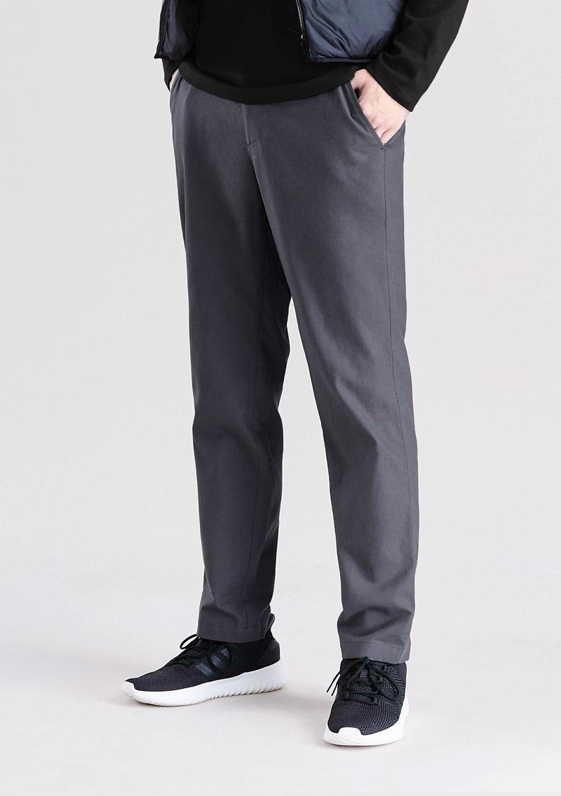 亞麻長褲-男裝