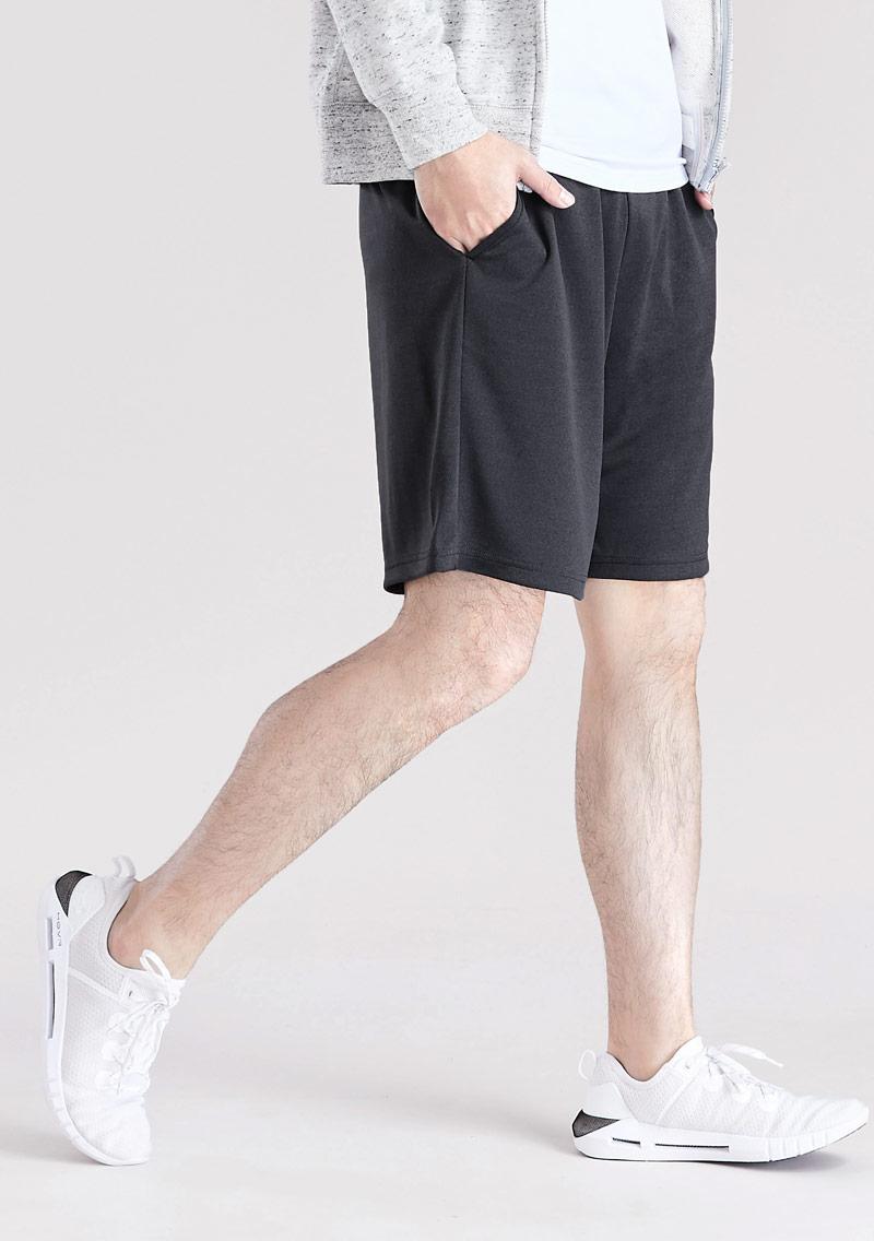 吸排快乾休閒短褲-男裝