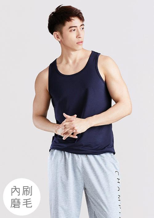 HEATPUSH內磨毛發熱背心-男裝